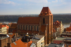 Cathedral of st John, Torun, Poland Stock Images
