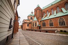 Cathedral of St. John in Wroclaw, Royalty Free Stock Photos