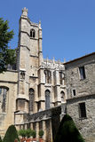 Cathedral St Just and Pasteur of Narbonne Stock Photography