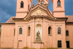 Cathedral of St. Lawrence on Pet�ín Hill Stock Image