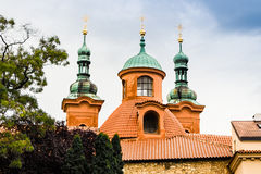 Cathedral of St. Lawrence on Pet�ín Hill Royalty Free Stock Image