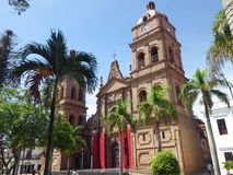Cathedral of St. Lawrence in Santa Cruz, Bolivia Royalty Free Stock Photos