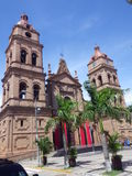 Cathedral of St. Lawrence in Santa Cruz, Bolivia Stock Photo