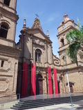 Cathedral of St. Lawrence in Santa Cruz, Bolivia Stock Photos
