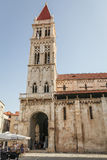 Cathedral of St Lawrence in Trogir Royalty Free Stock Image