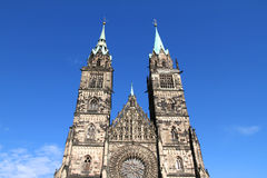Free Cathedral St. Lorenz Of Nuremberg Stock Photography - 21574252