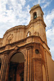 Cathedral of St. Lorenzo (Cattedrale di San Lorenzo) in Trapani. Stock Photos