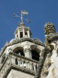 The cathedral of St Marco in Korcula city in Croatia stock photography
