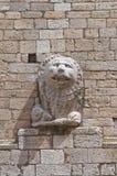 Cathedral of St. Maria Assunta. Melfi. Basilicata. Italy. stock photo