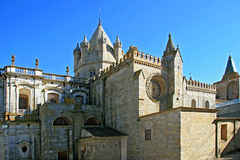 Cathedral St. Maria Of Evora Stock Photos