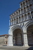 Cathedral of St. Martin (Lucca, Italy) Stock Photos