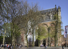 Cathedral of St. Martin in Utrecht. Netherlands.  royalty free stock photo