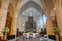 Cathedral of St. Mary of the Incarnation, Santo Domingo, Dominic Stock Image