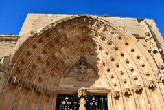 The Cathedral of St. Mary of La Seu Vella Royalty Free Stock Image