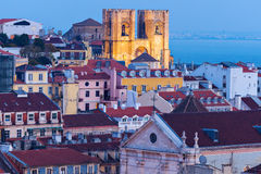 Cathedral of St. Mary in Lisbon Royalty Free Stock Image