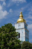 Cathedral. St. Michaels Golden-Domed Monastery in Kiev Royalty Free Stock Photography