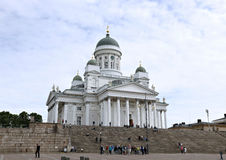 Cathedral of St. Nicholas (Cathedral Basilica) in Helsinki Royalty Free Stock Photo
