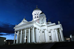 Cathedral of St. Nicholas (Cathedral Basilica) in Helsinki Stock Images