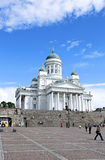 Cathedral of St. Nicholas (Cathedral Basilica) in Helsinki Royalty Free Stock Images