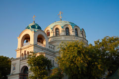 Cathedral of St. Nicholas in Evpatoria Stock Images