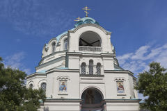 Cathedral of St. Nicholas in Evpatoria. Crimea, Russia Royalty Free Stock Photography