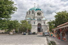 The Cathedral of St. Nicholas in Evpatoria Stock Photo