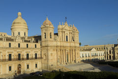 Cathedral of St. Nicholas, Noto Stock Photography