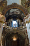 Cathedral of St. Nicholas. Prague. Stock Photos