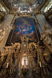 Cathedral of St. Nicholas. Prague. Royalty Free Stock Photo