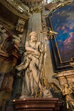 Cathedral of St. Nicholas. Prague. Stock Image