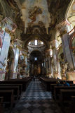 Cathedral of St. Nicholas. Prague. Stock Photography