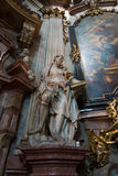 Cathedral of St. Nicholas. Prague. Royalty Free Stock Images