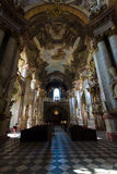 Cathedral of St. Nicholas. Prague. Royalty Free Stock Photography
