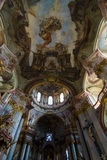 Cathedral of St. Nicholas. Prague. Royalty Free Stock Image