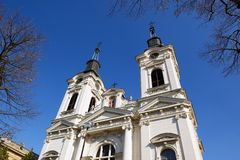 Cathedral of St Nicholas, Sremski Karlovci, Serbia stock images