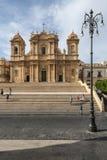 Cathedral of st. nicolò noto  syracuse sicily Italy europe Stock Image