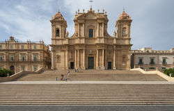 Cathedral of st. nicolò noto  syracuse sicily Italy europe Stock Photography