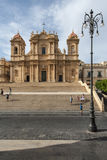 Cathedral of st. nicolò noto  syracuse sicily Italy europe Stock Image