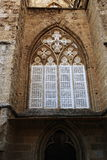 The Cathedral of st.Nicolas (Lala Mustafa Pasha Mosque) in the city of Famagusta, Northern Cyprus Stock Photos