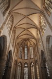 The Cathedral of st.Nicolas (Lala Mustafa Pasha Mosque) in the city of Famagusta, Northern Cyprus Stock Image