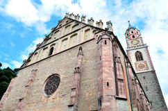 The cathedral of St. Nikolaus Stock Image