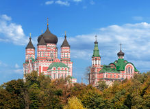 Cathedral of St. Pantaleon is a large Eastern Orthodox cathedral Royalty Free Stock Image