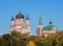 Cathedral of St. Pantaleon is a large Eastern Orthodox cathedral Royalty Free Stock Photo