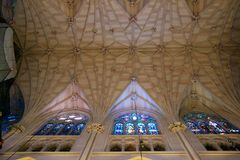 The Cathedral of St. Patrick. Interior of the Cathedral of St. Patrick in New York Royalty Free Stock Photography