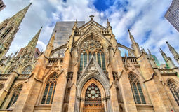 The Cathedral of St. Patrick in Manhattan, New York City Royalty Free Stock Photography