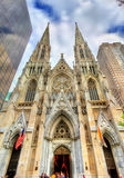 The Cathedral of St. Patrick in Manhattan, New York City Stock Photo