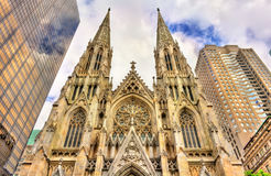 The Cathedral of St. Patrick in Manhattan, New York City Royalty Free Stock Image
