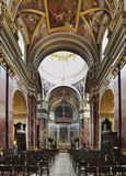 Cathedral of St. Paul in Mdina.  Malta Royalty Free Stock Photos