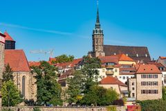 Cathedral of St Peter, Bautzen Stock Image