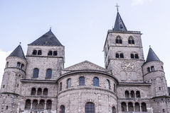 Cathedral of St. Peter- the oldest Christian church in Germany Stock Photos